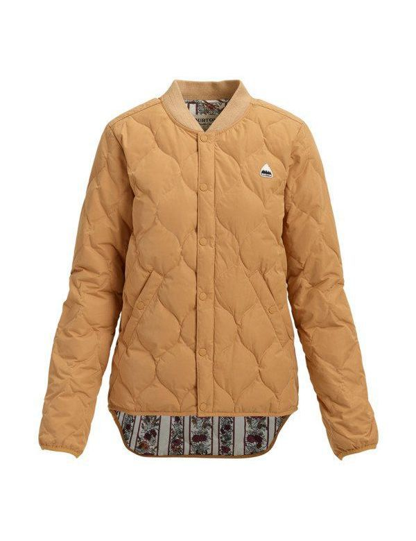 BURTON WOMEN'S KILEY DOWN JACKET Fawn