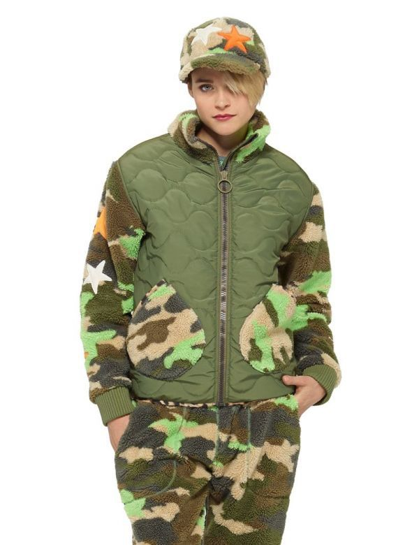 BURTON WOMEN'S L.A.M.B VIVID TRUTH FLEECE TOP woodland camo