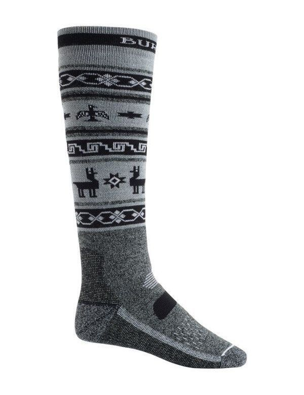 BURTON PERFORMANCE MID-WEIGHT SOCK True black heather