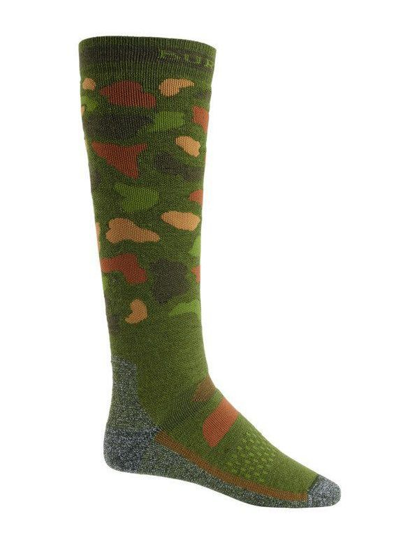 BURTON PERFORMANCE MID-WEIGHT SOCK Forest duck