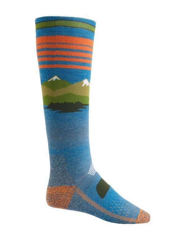 BURTON PERFORMANCE MID-WEIGHT SOCK Vista