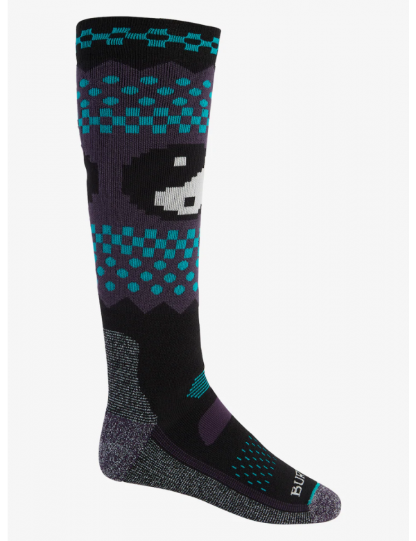 BURTON MEN'S PERFORMANCE MIDWEIGHT SOCK ying yang