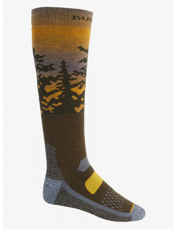 BURTON MEN'S PERFORMANCE MIDWEIGHT SOCK Sunrise