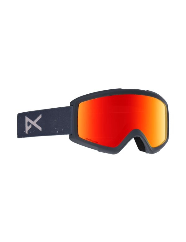 ANON HELIX 2.0 RUSH SONAR RED + SPARE LENS