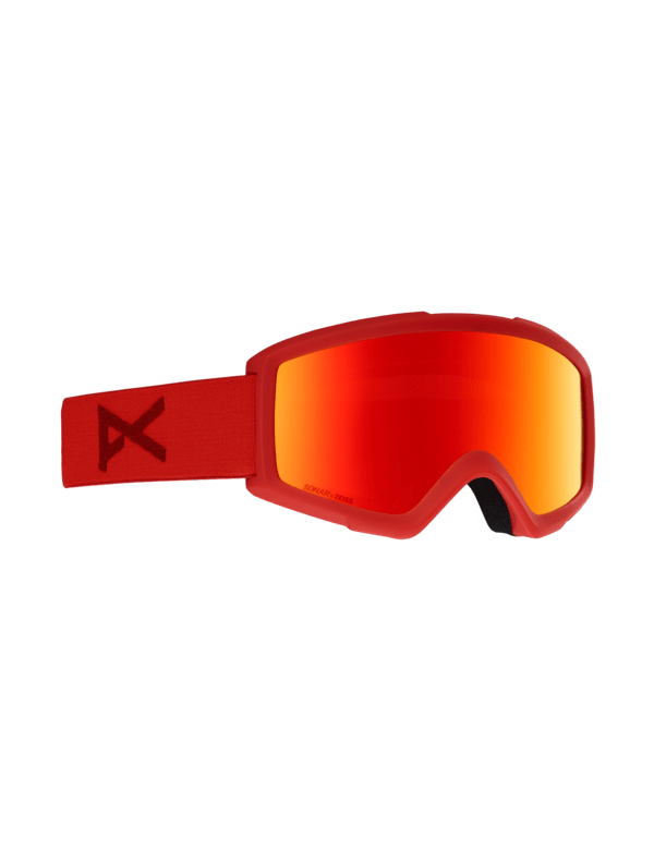 ANON HELIX 2.0 RED SONAR RED + SPARE LENS
