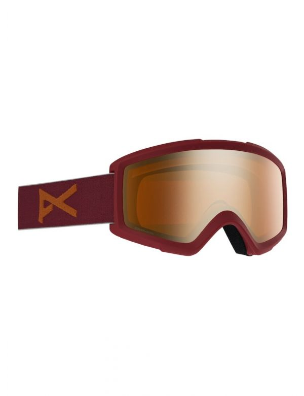 ANON HELIX 2.0 MAROON SONAR BRONZE + SPARE LENS