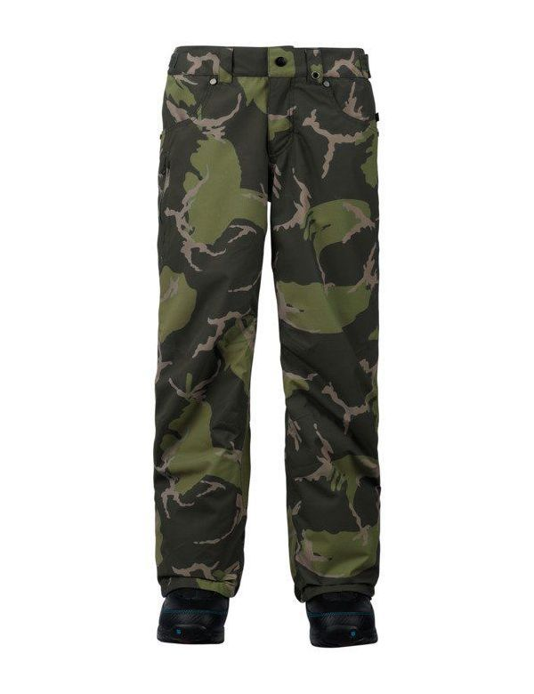 BURTON BOYS BARNSTORM PANTS Mountain camo