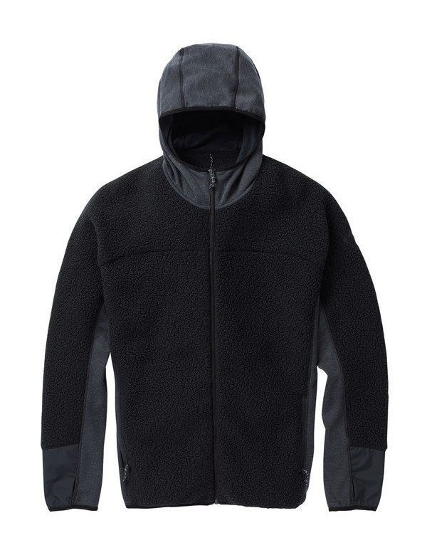 BURTON MINTURN FULL ZIP True black