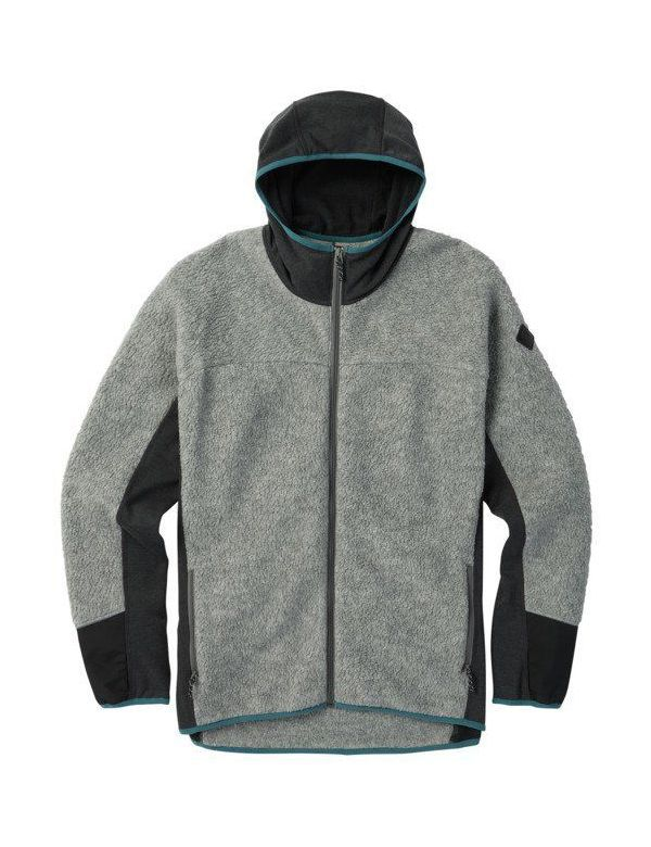 BURTON MINTURN FULL ZIP HOODED True black