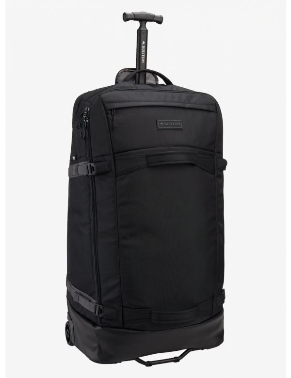 BURTON MULTIPATH CHECKED 90L True black ballistic