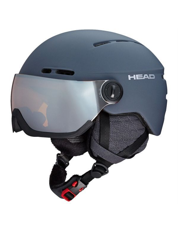 HEAD KNIGHT PRO VIZIERHELM antracite