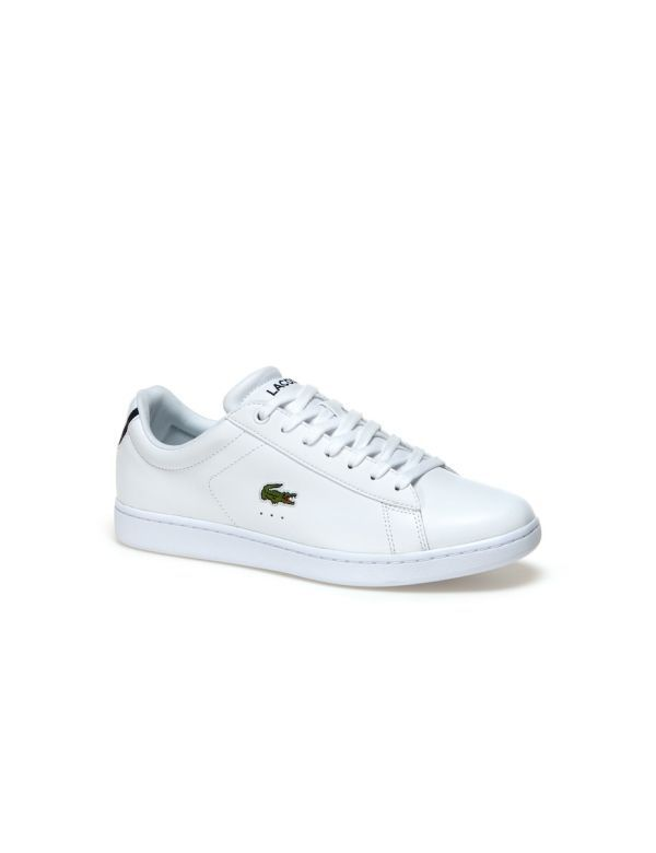 lacoste carnaby white