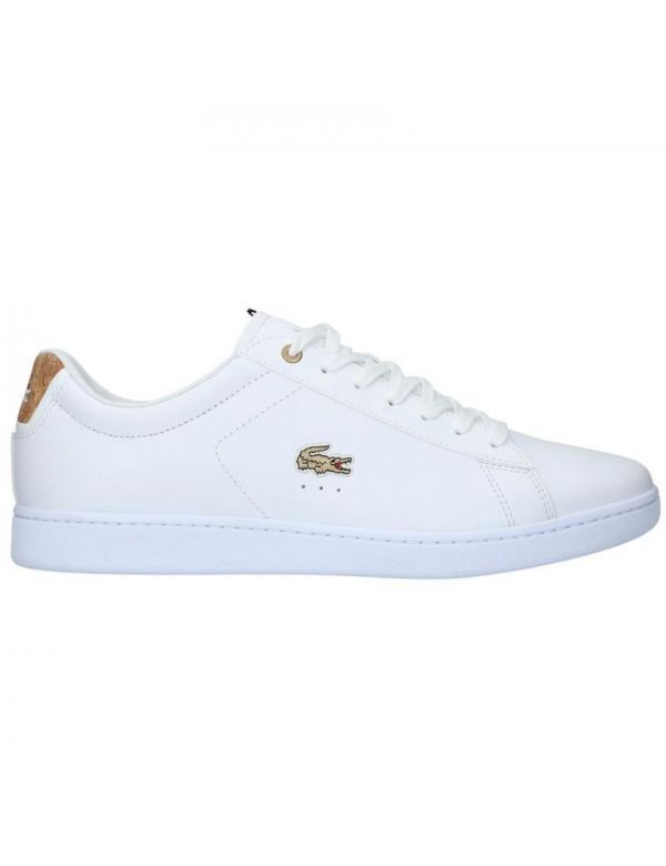 LACOSTE CARNABY EVO 118 white gold
