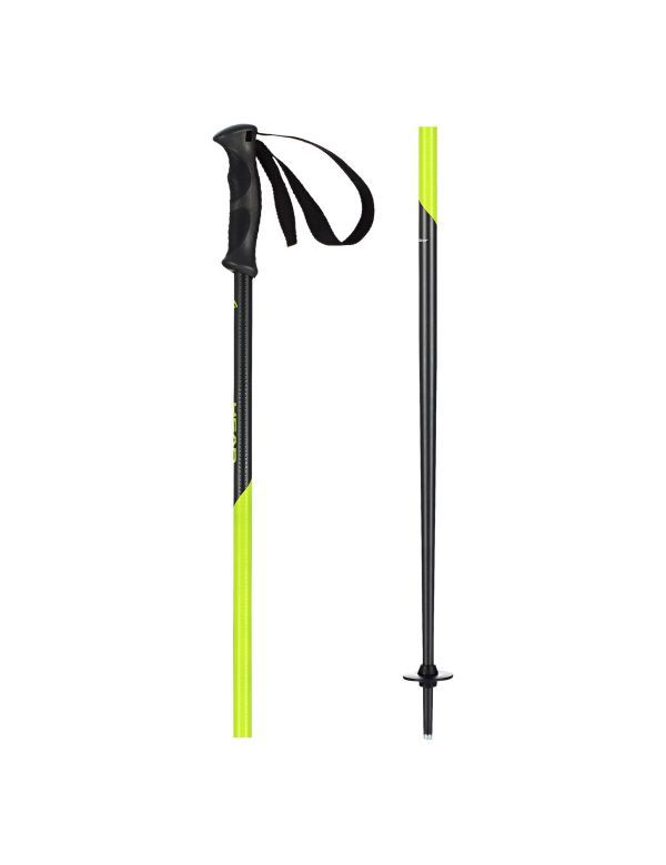 Head multi s skistokken neon yellow