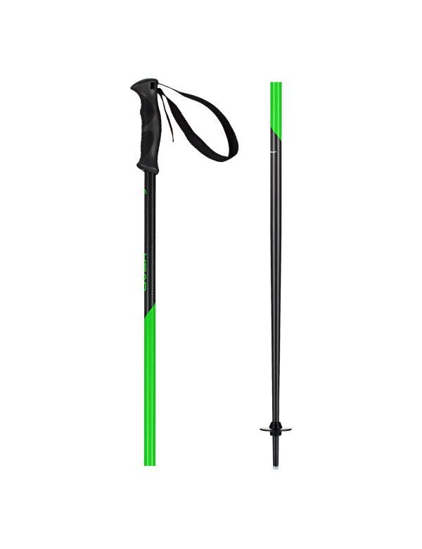 HEAD MULTI S SKISTOKKEN antracite neon green