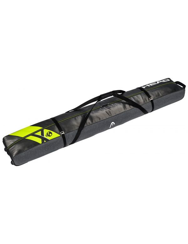 HEAD REBELS DOUBLE SKI BAG black yellow