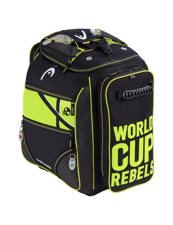 HEAD HEATABLE BOOTBAG black yellow