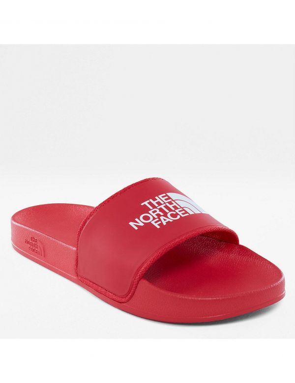THE NORTH FACE WOMEN'S BASE CAMP SLIDE Red white