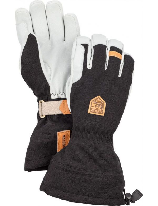 Hestra army leather patrol gauntlet gloves