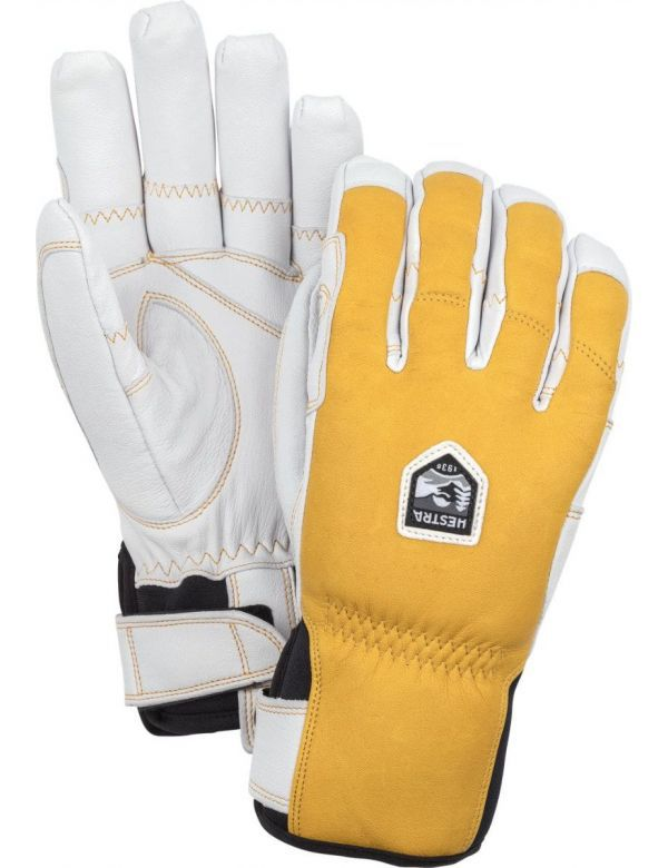 HESTRA ERGO GRIP INLCLINE YELLOW