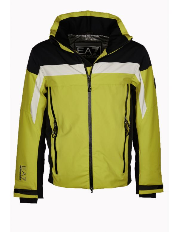 armani-ea7-ski-padded -ski-jacket-yellow-black
