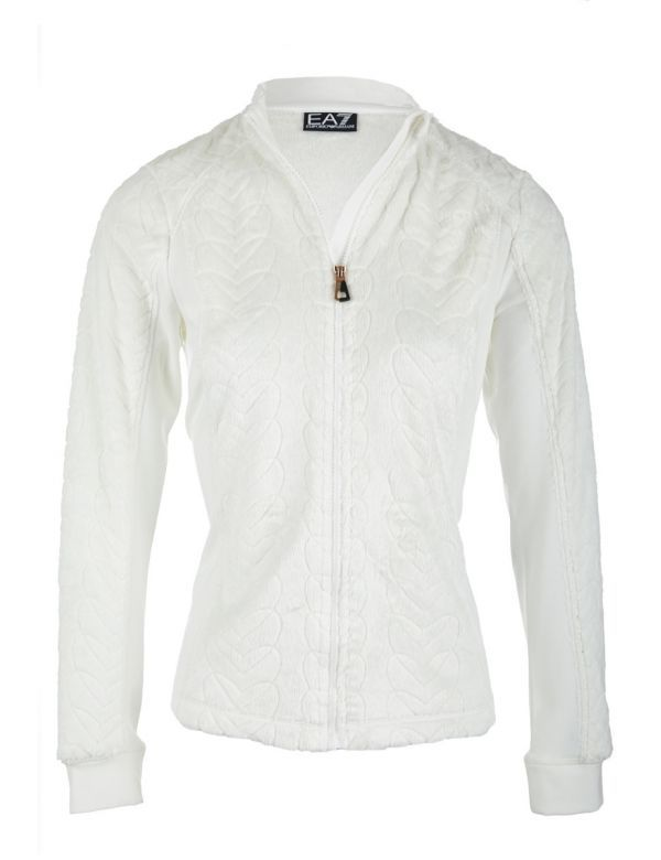 Armani EA7 midlayer white