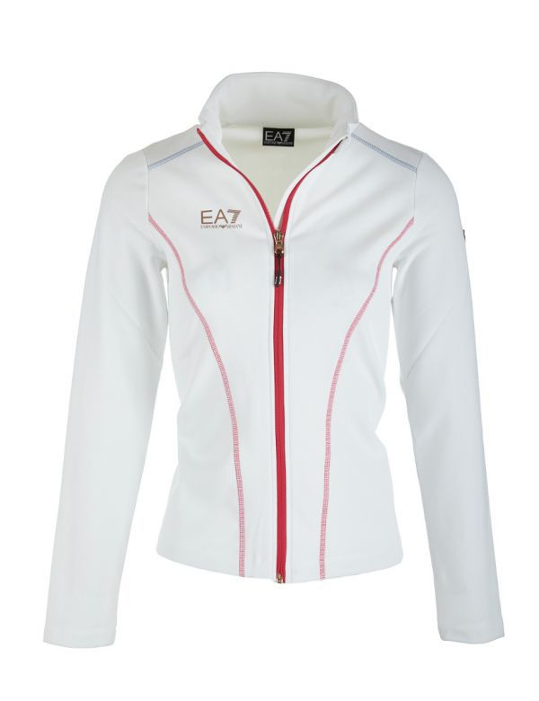 Armani EA7 Women Midlayer White