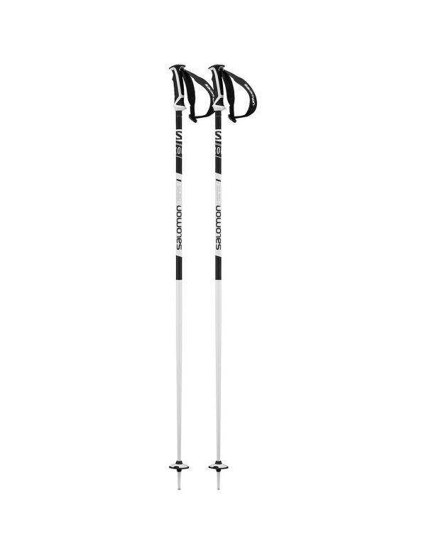SALOMON X 08 skistokken black white