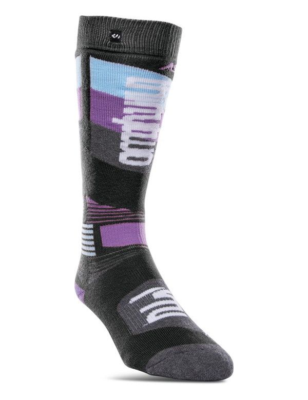 THIRTYTWO WOMEN'S ASI MERINO PERFORMANCE SOCK Black charcoal
