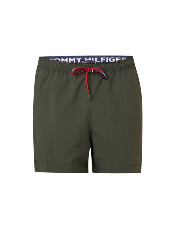 tommy hilfiger solid green