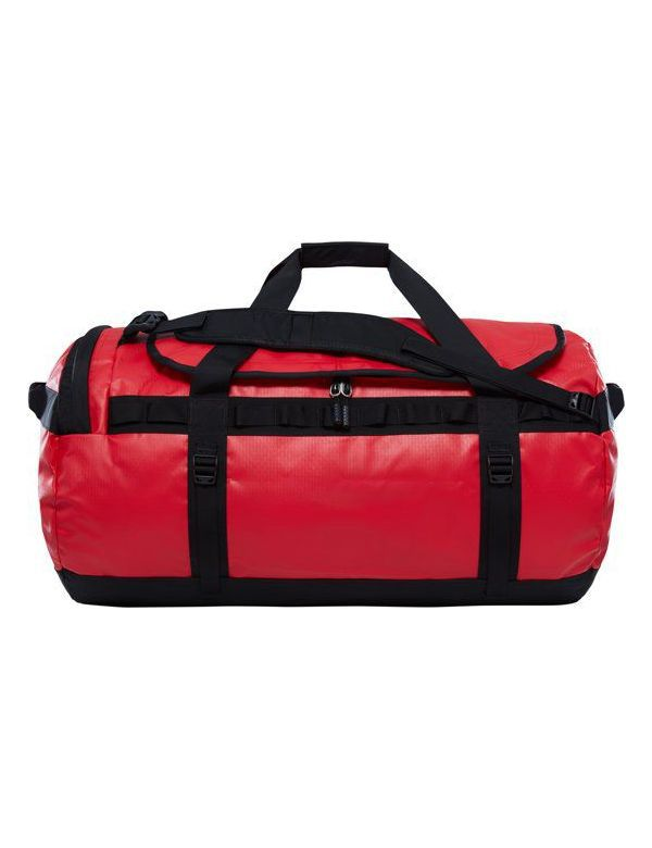 THE NORTH FACE BASE CAMP DUFFEL L red black