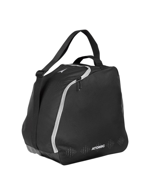 Atomic-w-boot-bag-cloud-black-silver-metallic
