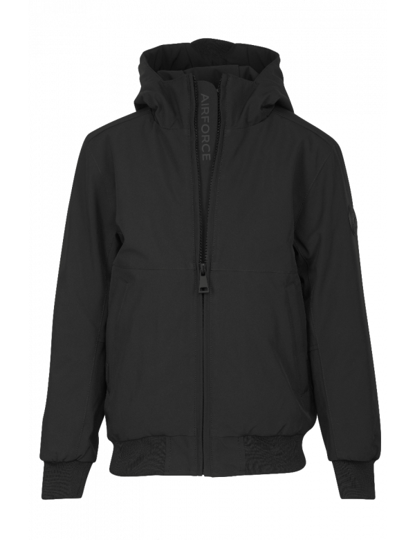 AIRFORCE PADDED BOMBER JACKET true Black