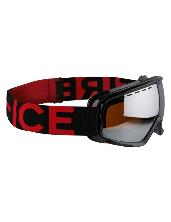 Bogner fire & Ice goggles ski brillen black red