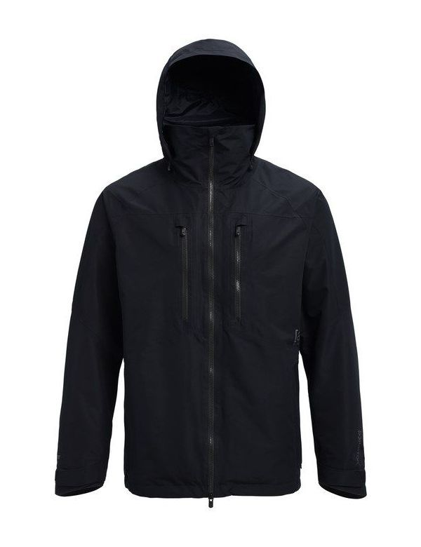 BURTON AK 2L SWASH JACKET drydye black