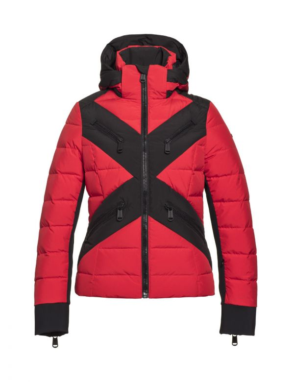 GOLDBERGH CROSS JACKET Red