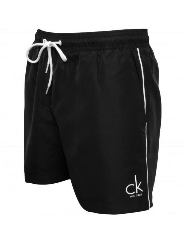 CALVIN KLEIN MEDIUM DRAWSTRING 3 Black