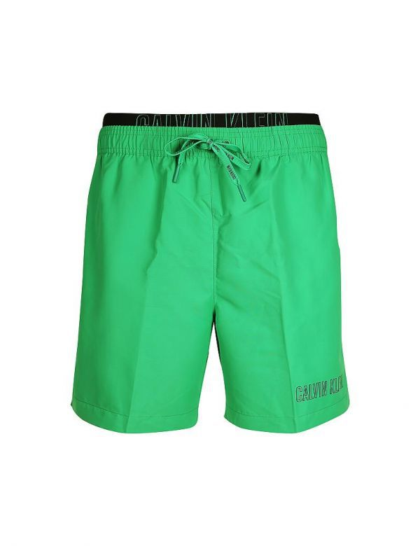 calvin klein double waistband bright green