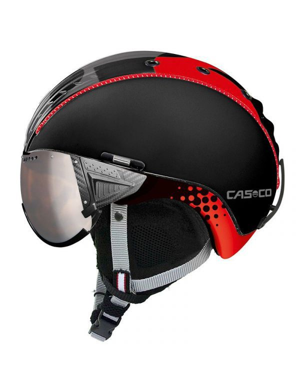 casco sp-2 black red