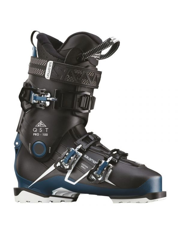salomon qst pro 100 black blue