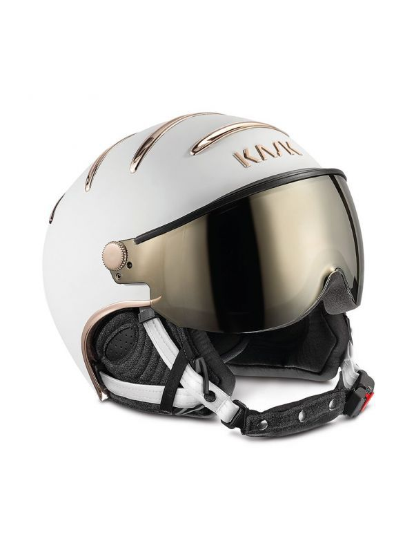 KASK CHROME white/ pink gold