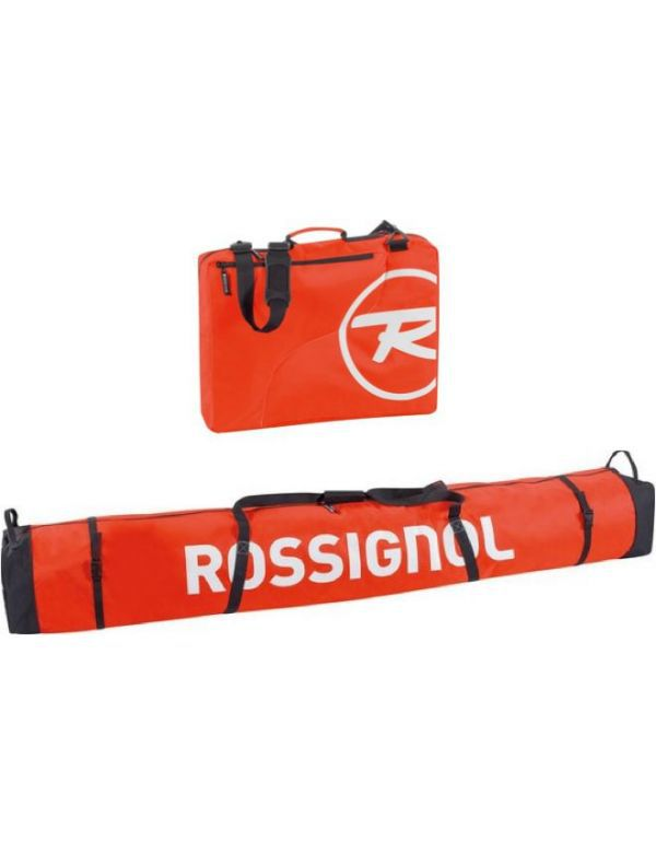 ROSSIGNOL HERO SKI BAG 2/3 P 210 + ROSSIGNOL DUAL BOOT BAG
