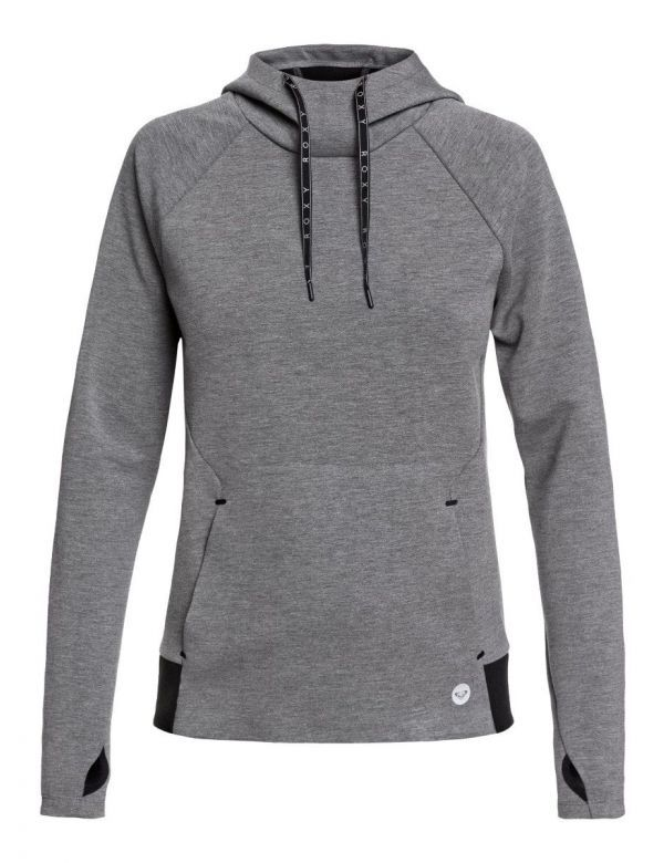 ROXY BY HERE NOW HOODIE Charcoal heather