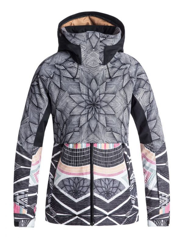 ROXY FROZEN FLOW JACKET Snow stars
