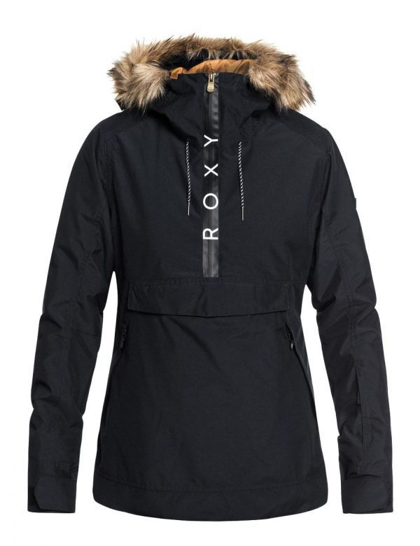 ROXY SHELTER JACKET True black