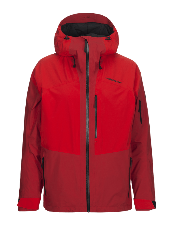 peak performance men's 2 layer gravity jacket dynared