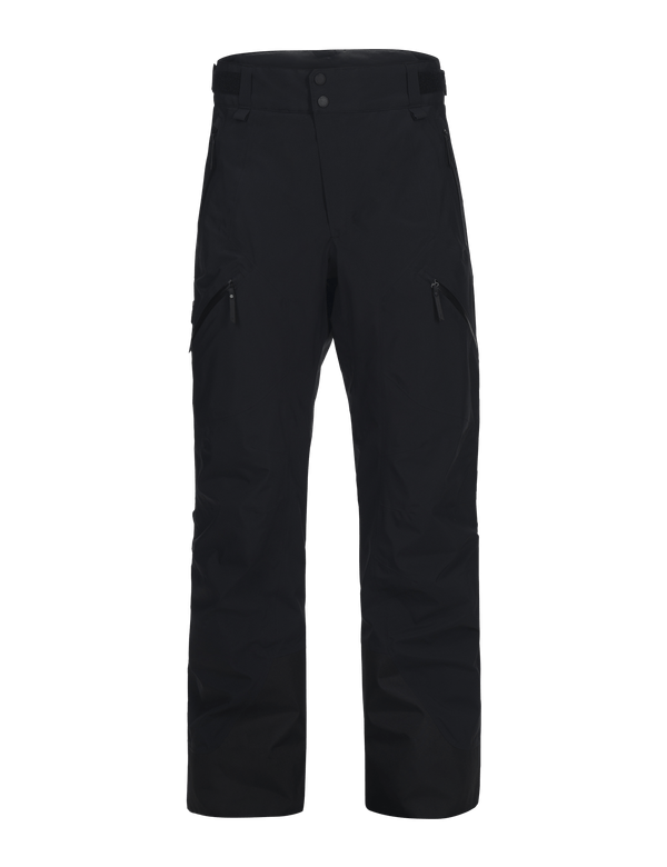 peak performance men's gravity 2 layer ski pant black