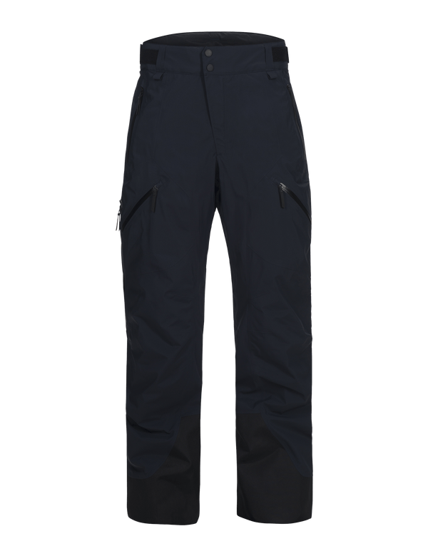 peak performance men's 2 layer gore tex gravity pants salute blue