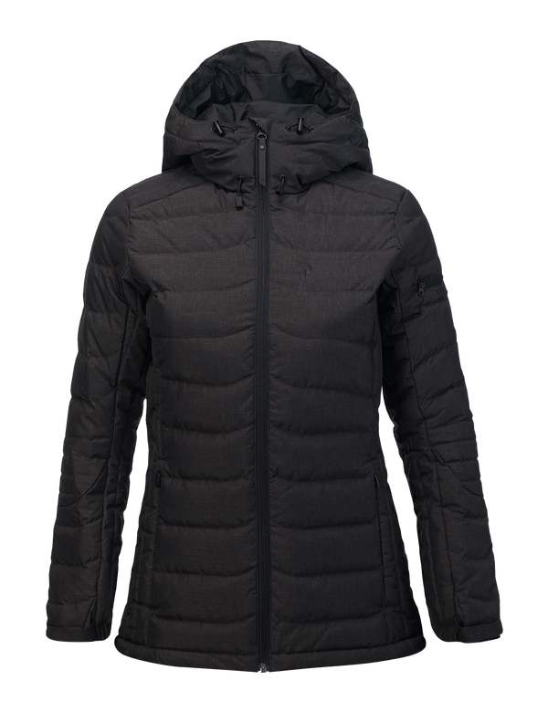 Peak performance women's ace blackburn ski jacket black
