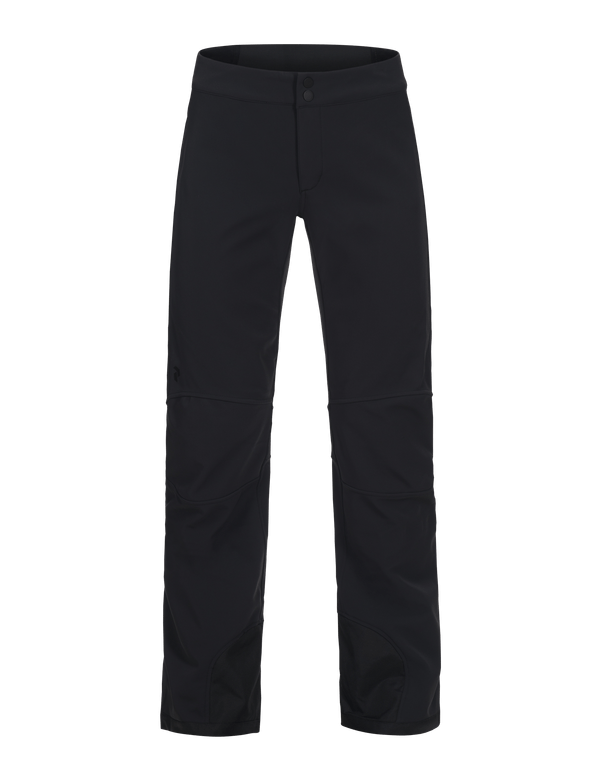 peak performance womens's padded ski pants black